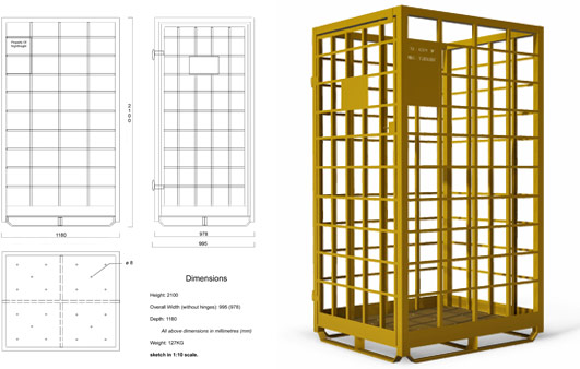 Bespoke Parcel Cage Configuration